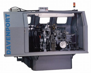 Davenport Model B Multi-Spindle Screw Machine distributed by ISMS