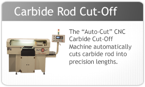 Rush Machinery Auto-Cut CNC Carbide Rod Cut-Off Machine