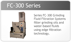 Rush Machinery FC-300 Grinding Fluid Filtration System
