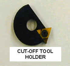 Vibor Tooling Cut-Off Tool Holder for Davenport Machines